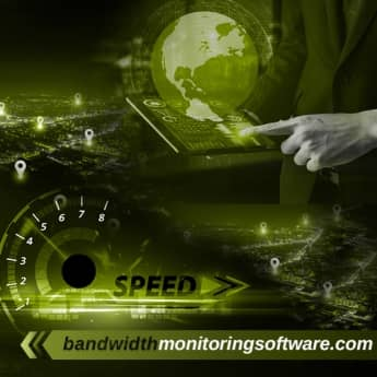 bandwidth monitoring software image